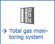 Total gas monitoring system